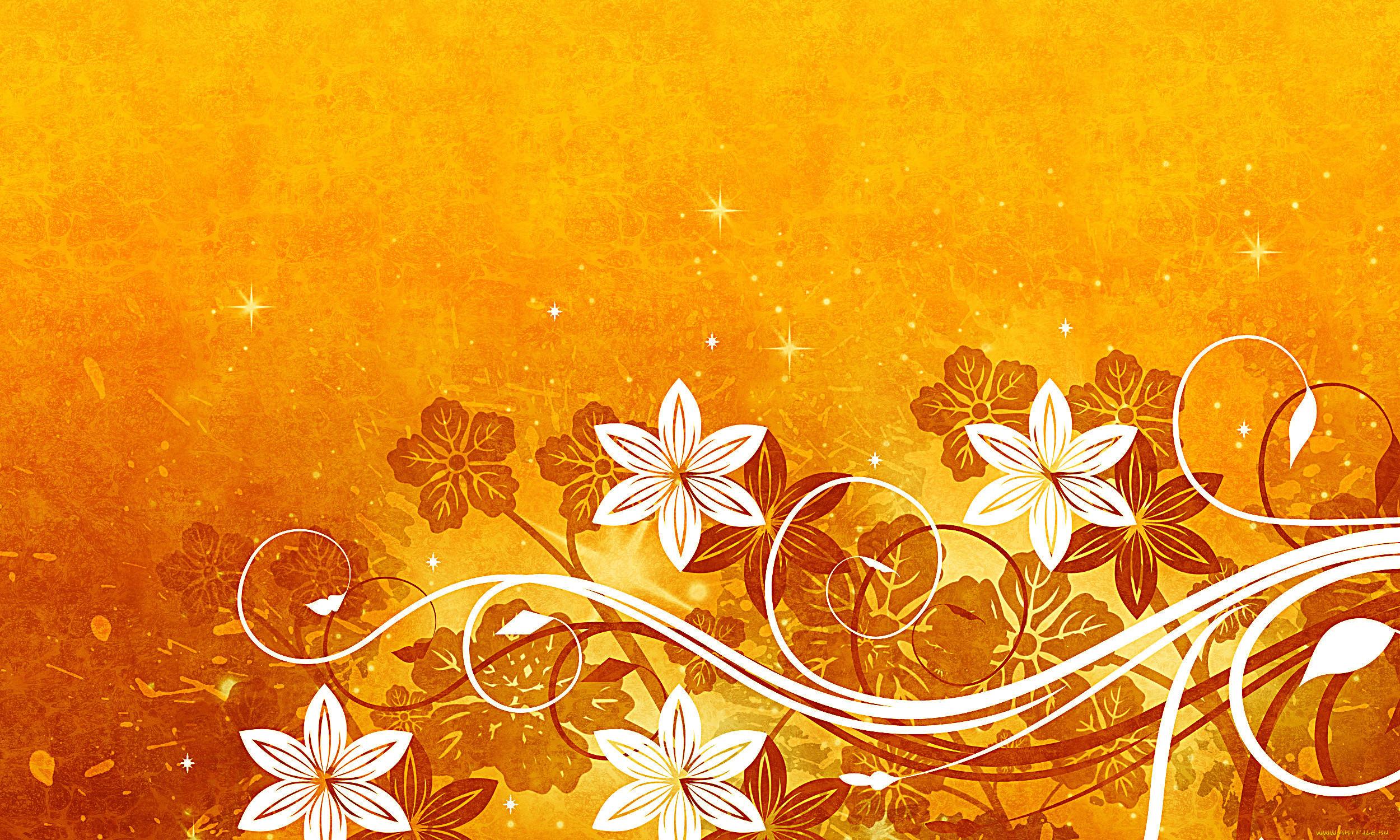 судно, картинки оранжевый фон цветы были деревянные